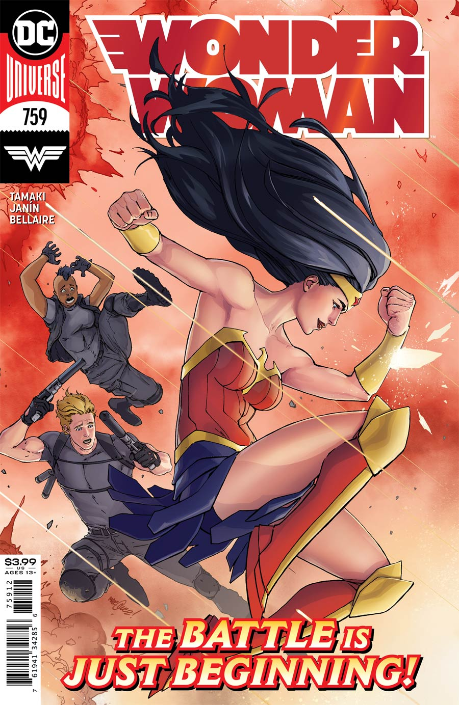 Wonder Woman Vol 5 #759 Cover C 2nd Ptg David Marquez Recolored Variant Cover