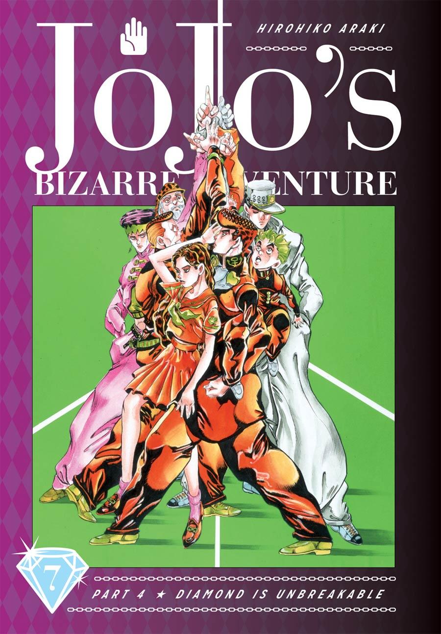 JoJos Bizarre Adventure Part 4 Diamond Is Unbreakable Vol 7 HC