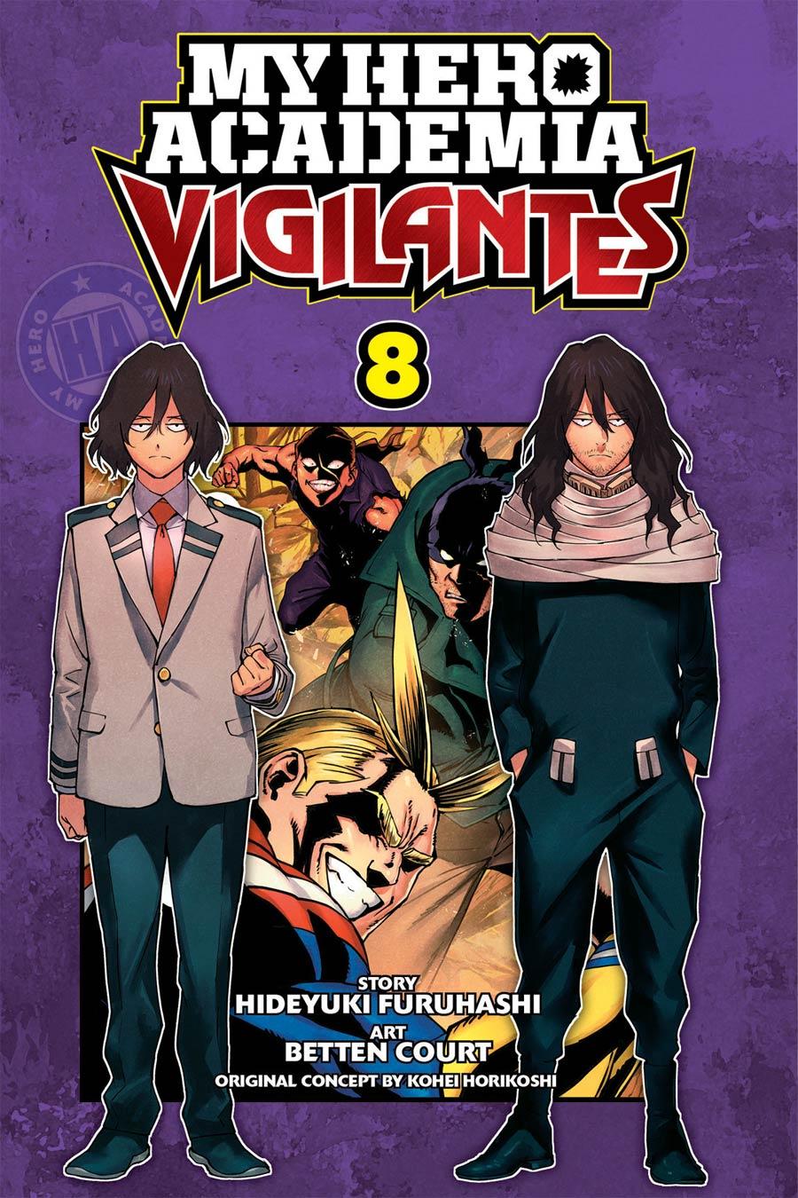 My Hero Academia Vigilantes Vol 8 GN