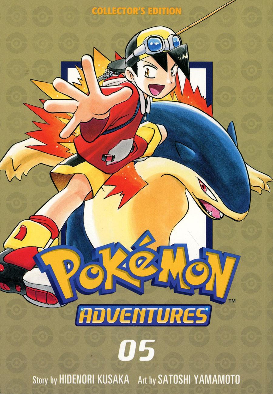 Pokemon Adventures Collectors Edition Vol 5 GN