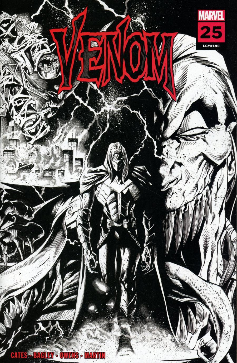 Venom Vol 4 #25 Cover T 3rd Ptg Incentive Ryan Stegman Sketch Variant Cover