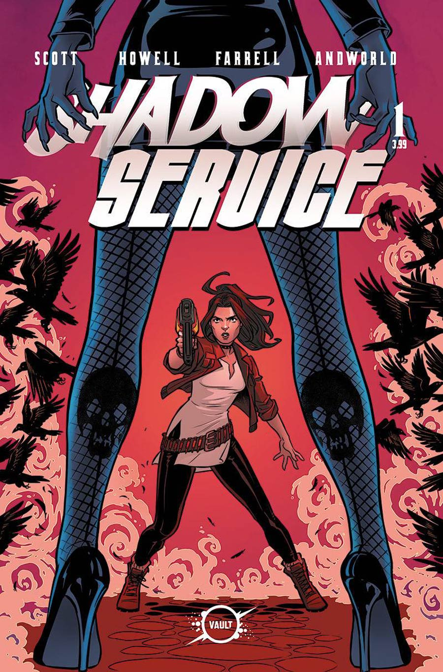 Shadow Service #1 Cover C Variant Corin Howell & Rebekah Isaacs Cover