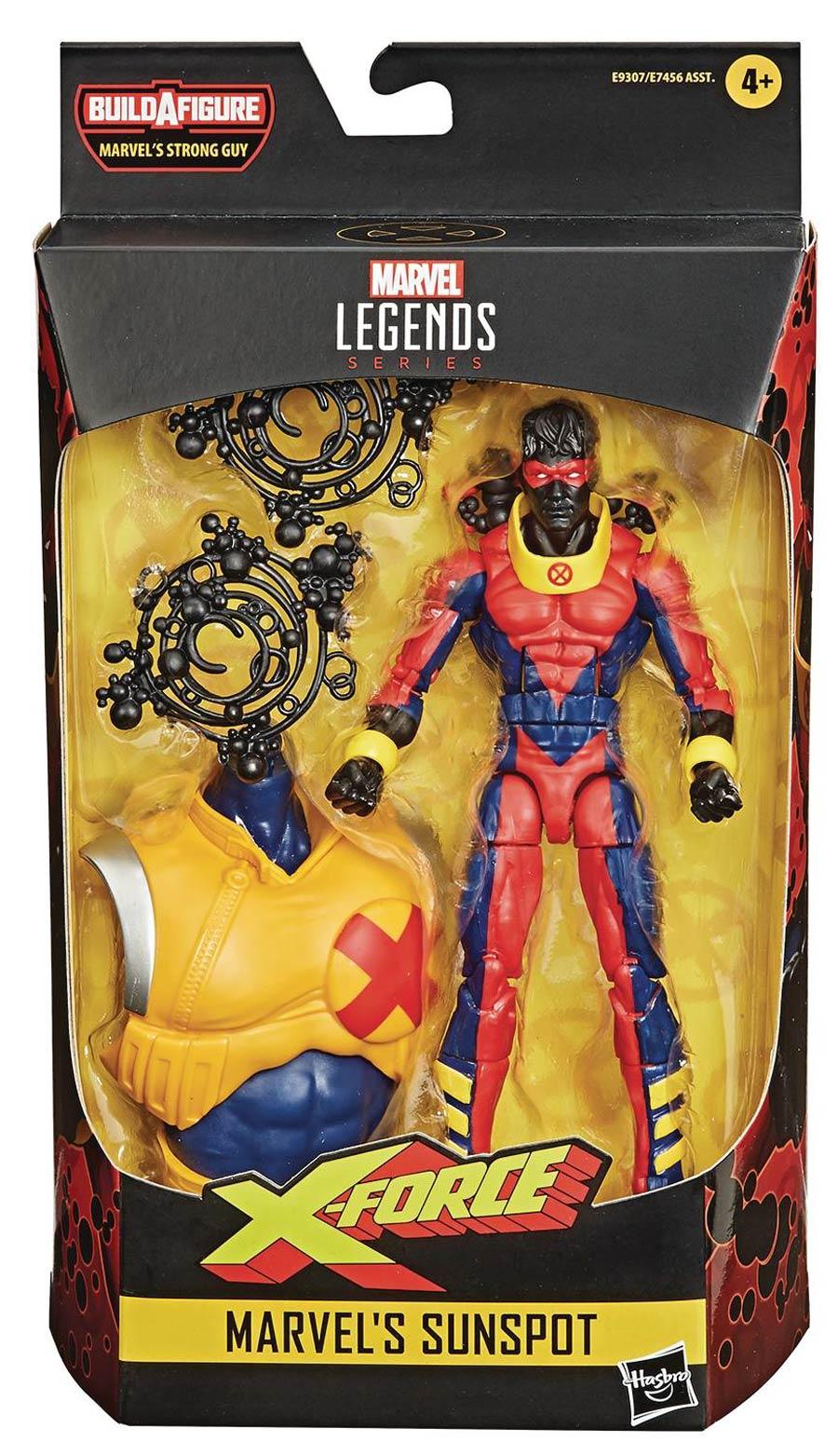 Marvel Deadpool Legends 2020 6-Inch Action Figure - Sunspot
