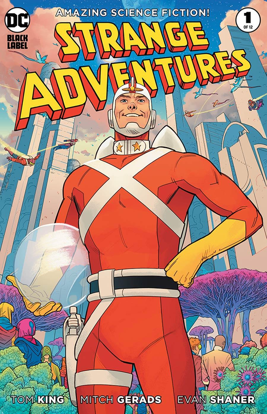Strange Adventures Vol 4 #1 Cover H 2nd Ptg Evan Doc Shaner Variant Cover