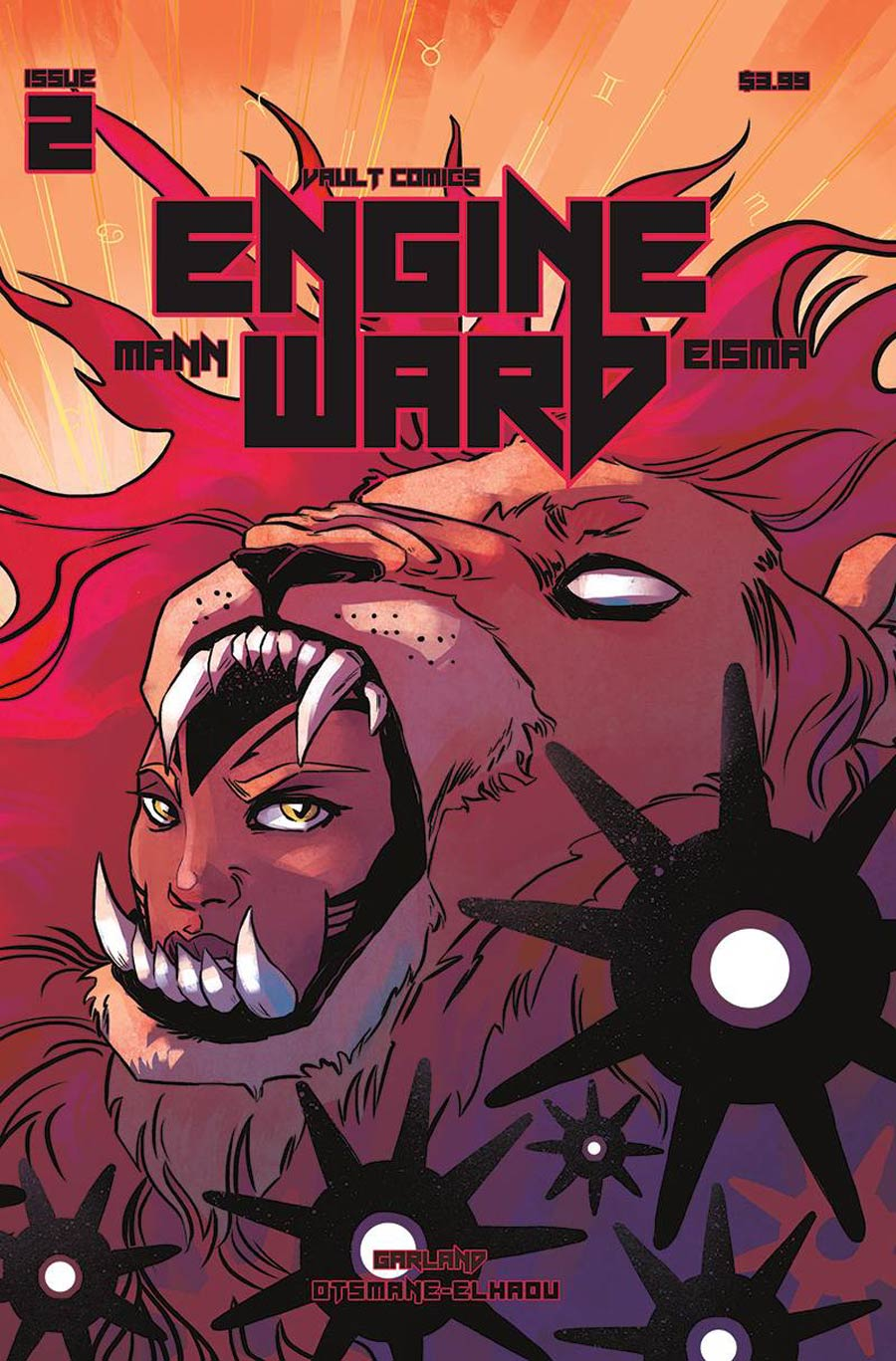 Engineward #2 Cover B Variant Jen Hickman Cover