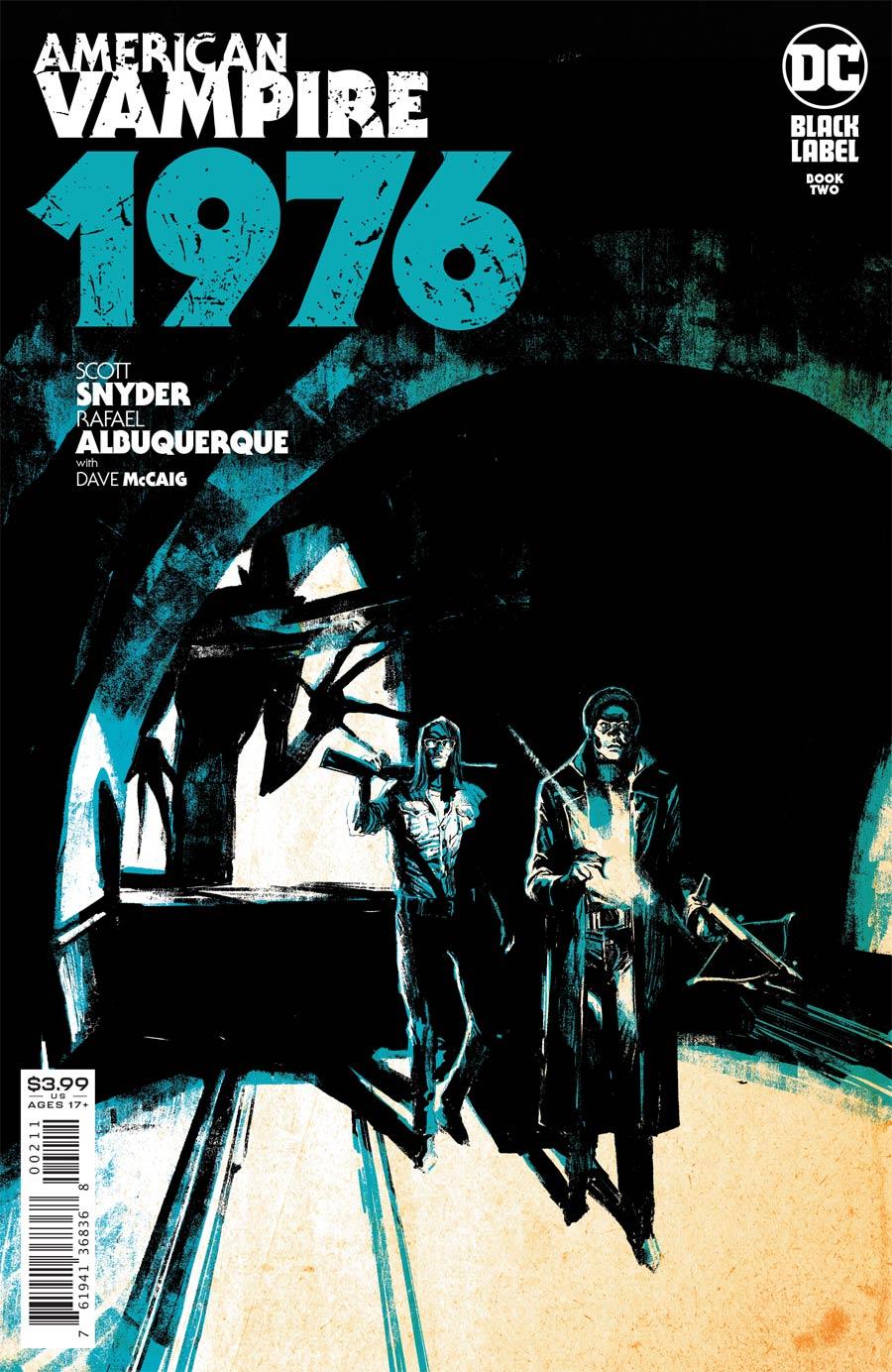 American Vampire 1976 #2 Cover A Regular Rafael Albuquerque Cover