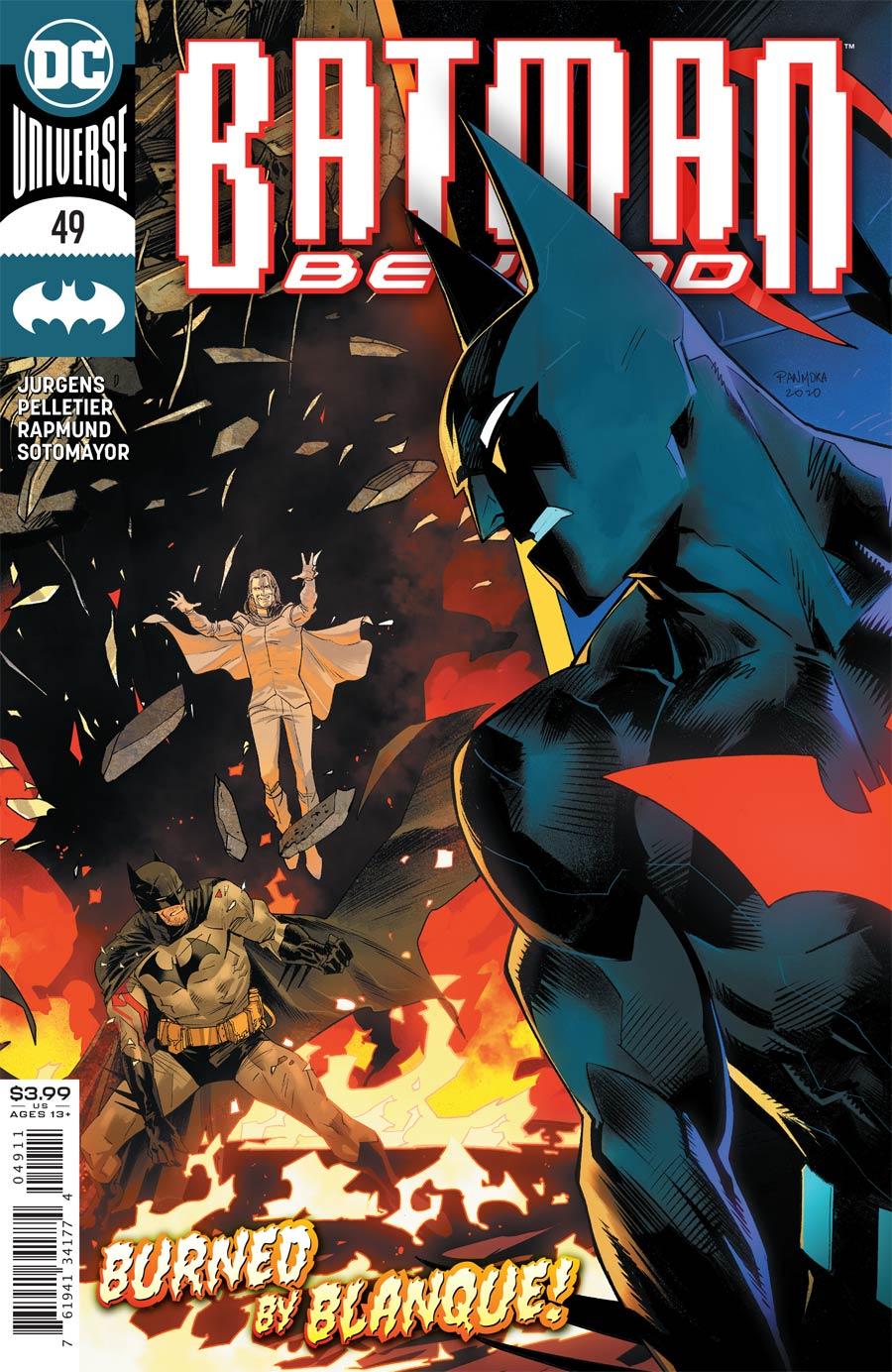 Batman Beyond Vol 6 #49 Cover A Regular Dan Mora Cover