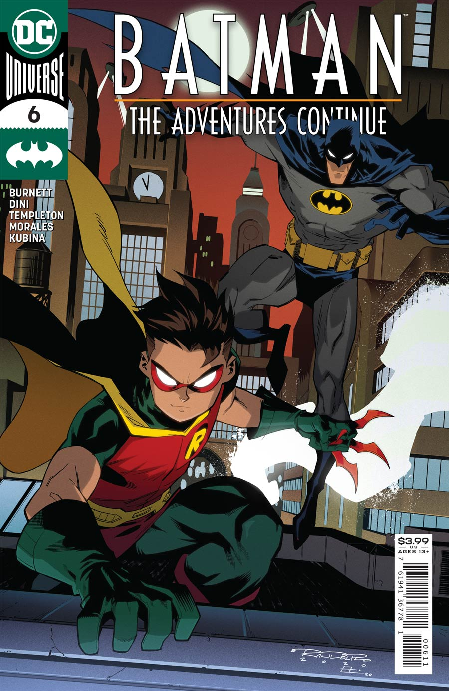 Batman The Adventures Continue #6 Cover A Regular Khary Randolph Cover