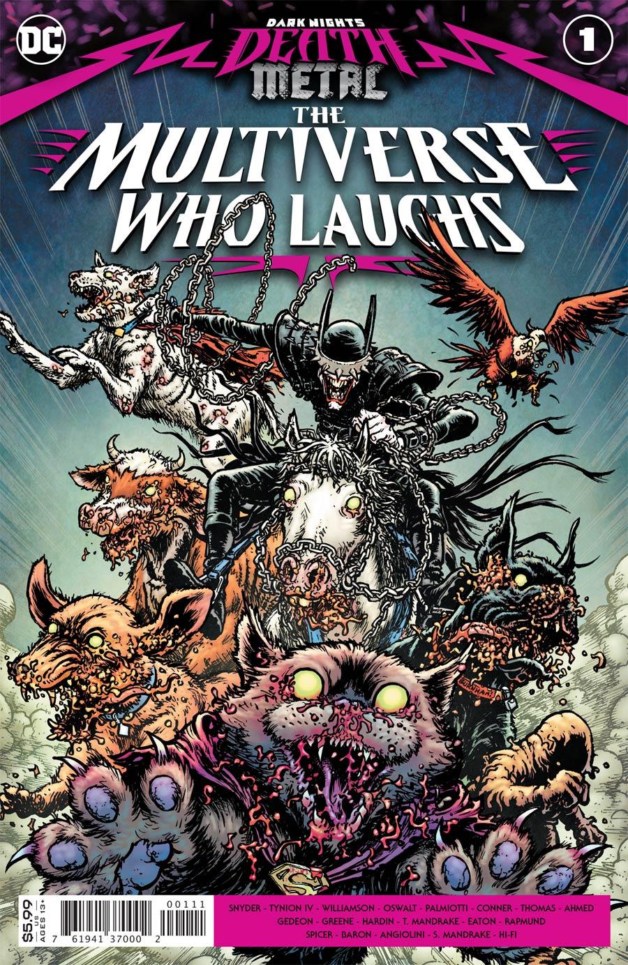 Dark Nights Death Metal Multiverse Who Laughs One Shot Cover A Regular Chris Burnham Cover