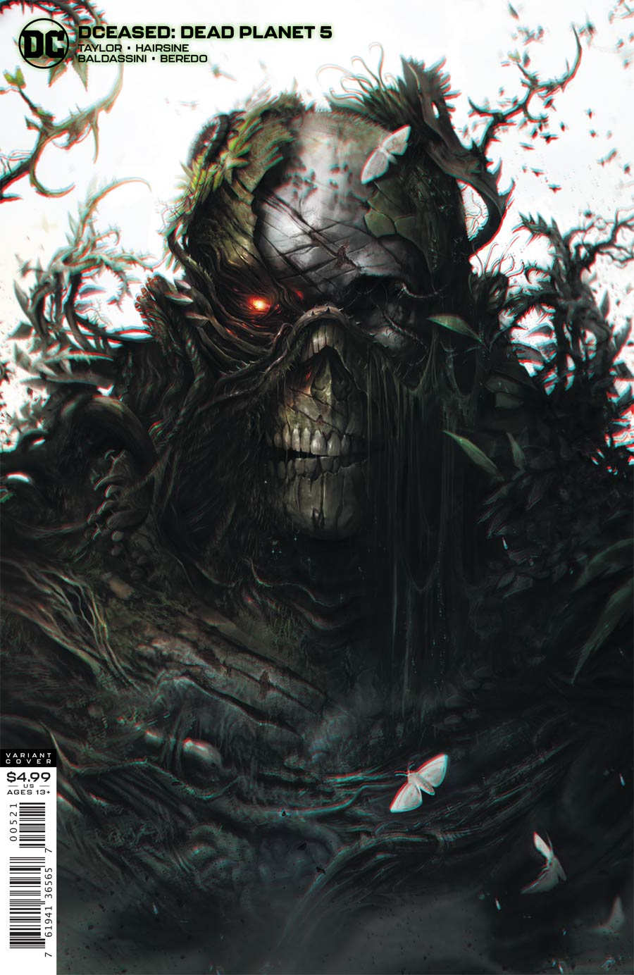 DCeased Dead Planet #5 Cover B Variant Francesco Mattina Card Stock Cover