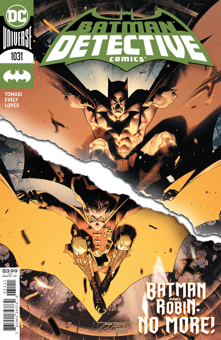 Detective Comics Vol 2 #1031 Cover A Regular Jorge Jimenez Cover