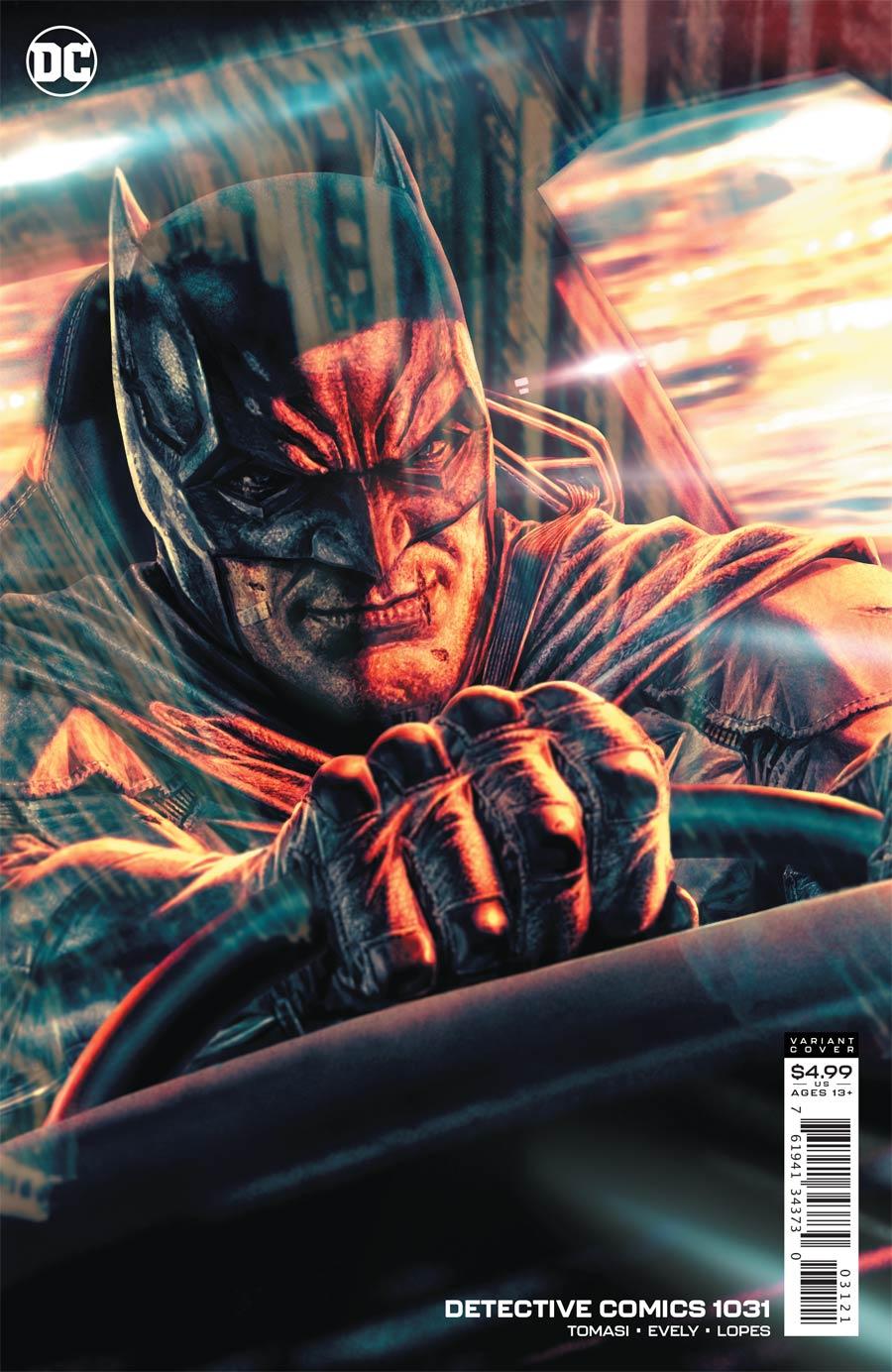 Detective Comics Vol 2 #1031 Cover B Variant Lee Bermejo Card Stock Cover