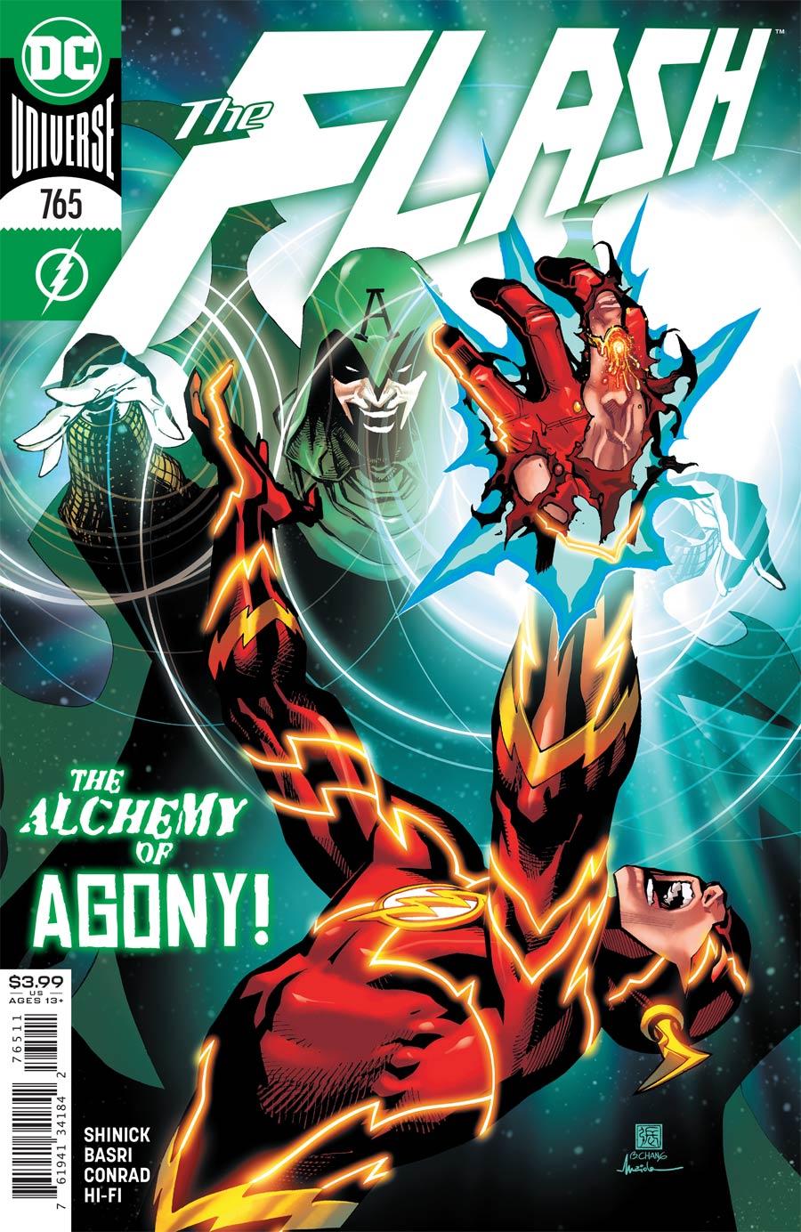 Flash Vol 5 #765 Cover A Regular Bernard Chang Cover