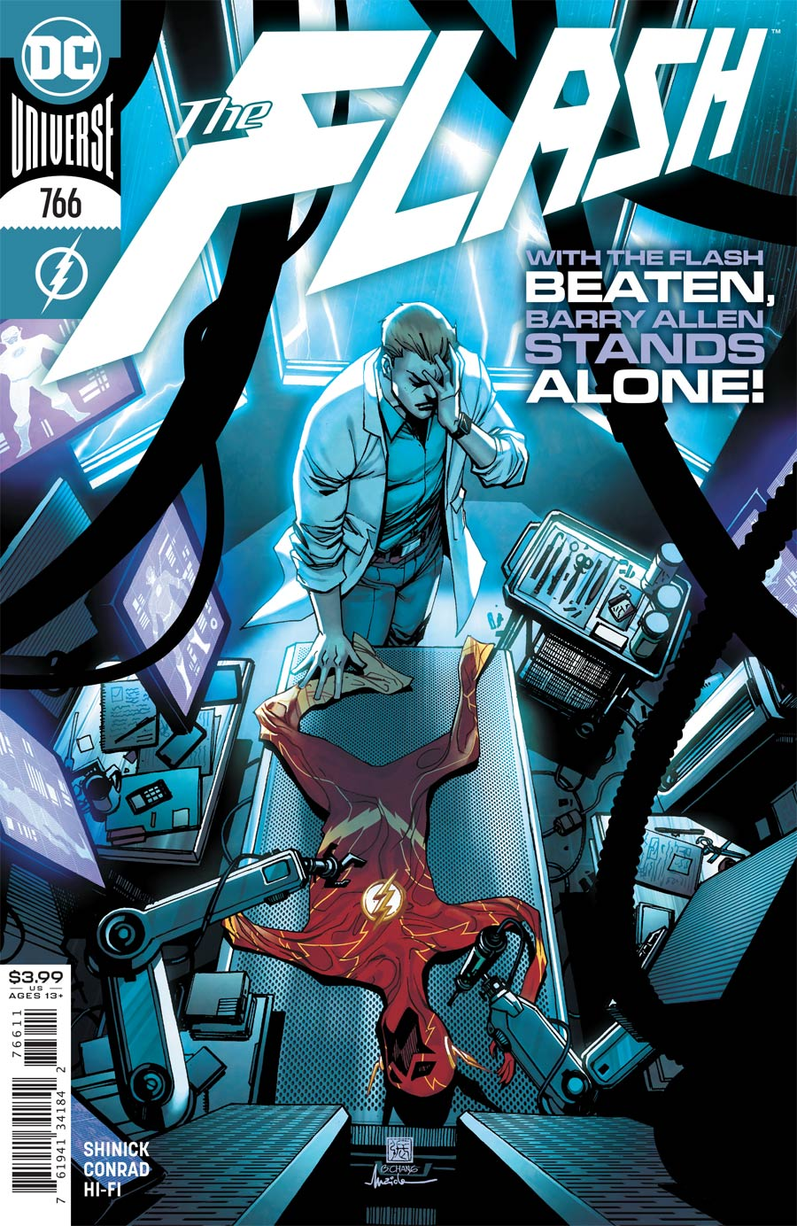 Flash Vol 5 #766 Cover A Regular Bernard Chang Cover