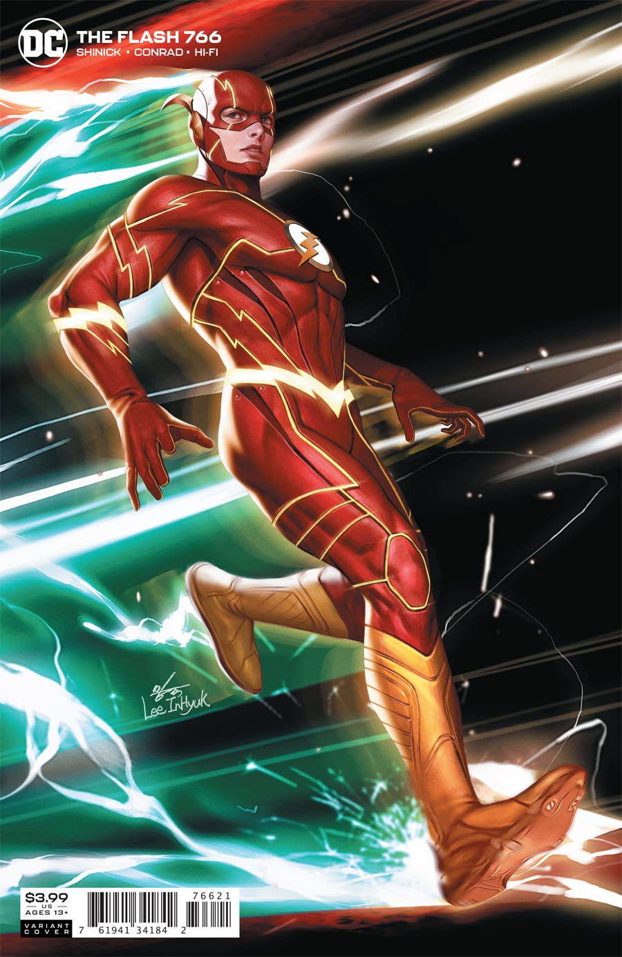 Flash Vol 5 #766 Cover B Variant Inhyuk Lee Cover