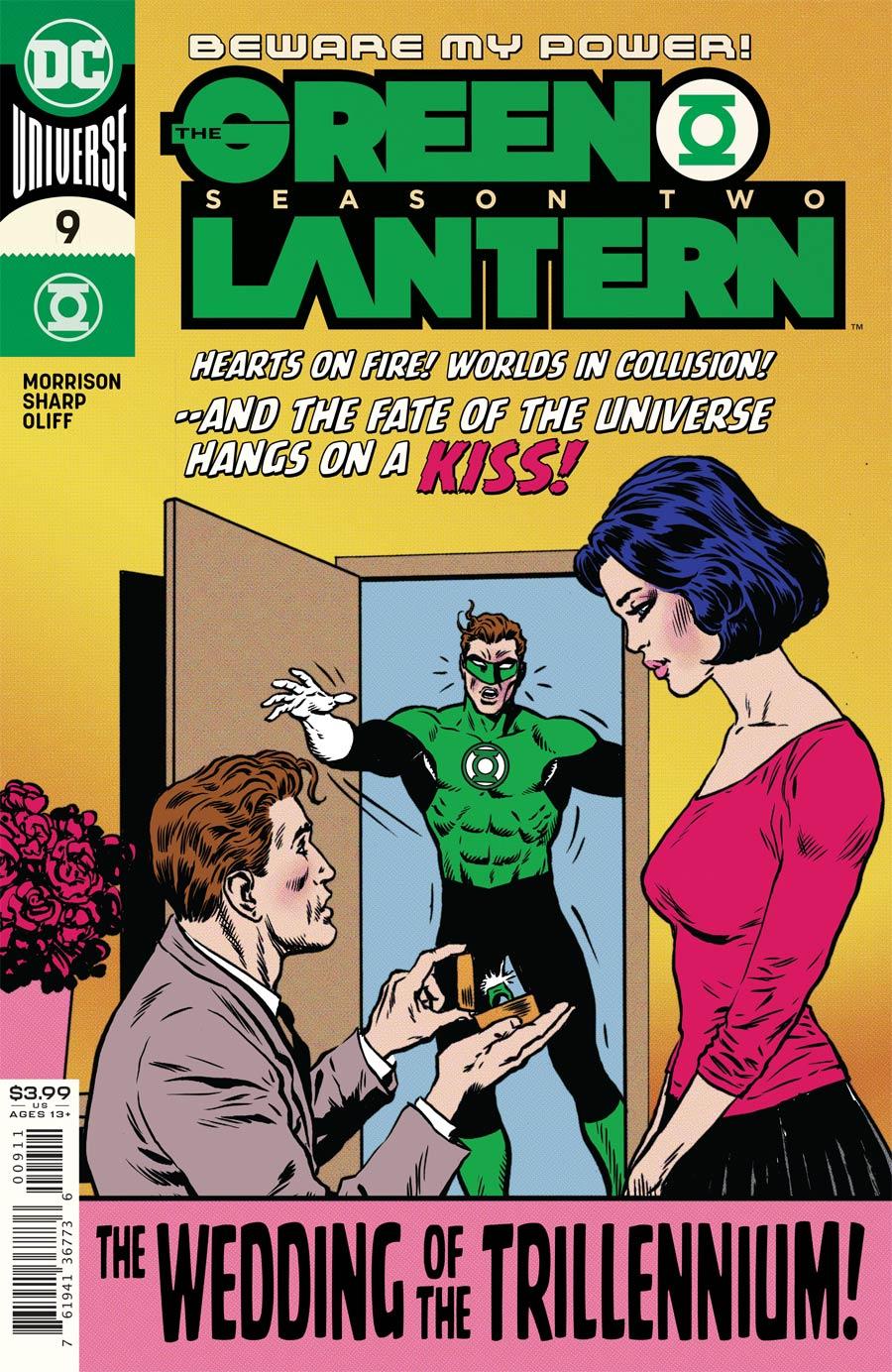 Green Lantern Vol 6 Season 2 #9 Cover A Regular Liam Sharp Cover