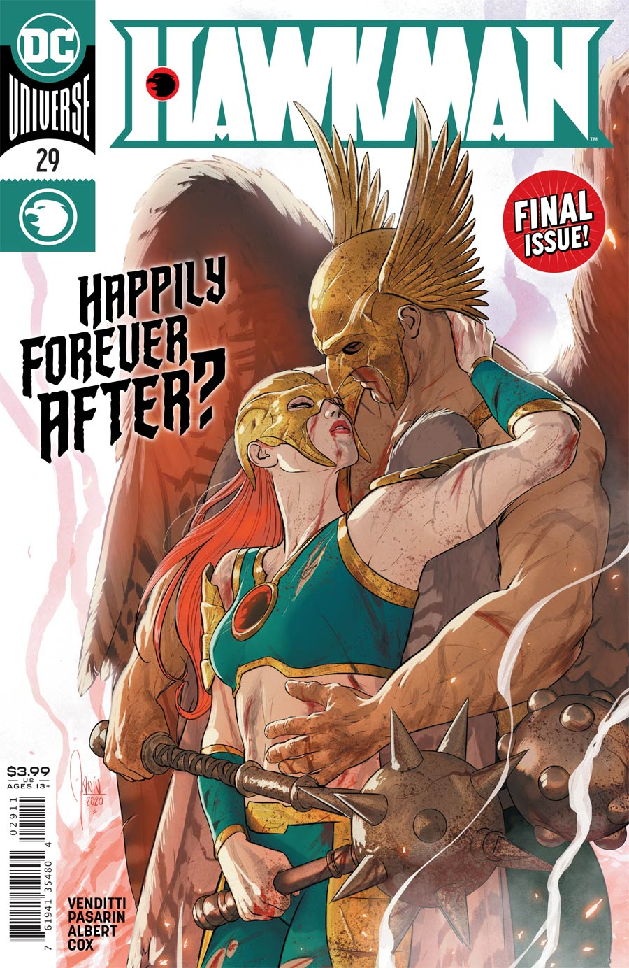 Hawkman Vol 5 #29 Cover A Regular Mikel Janin Cover