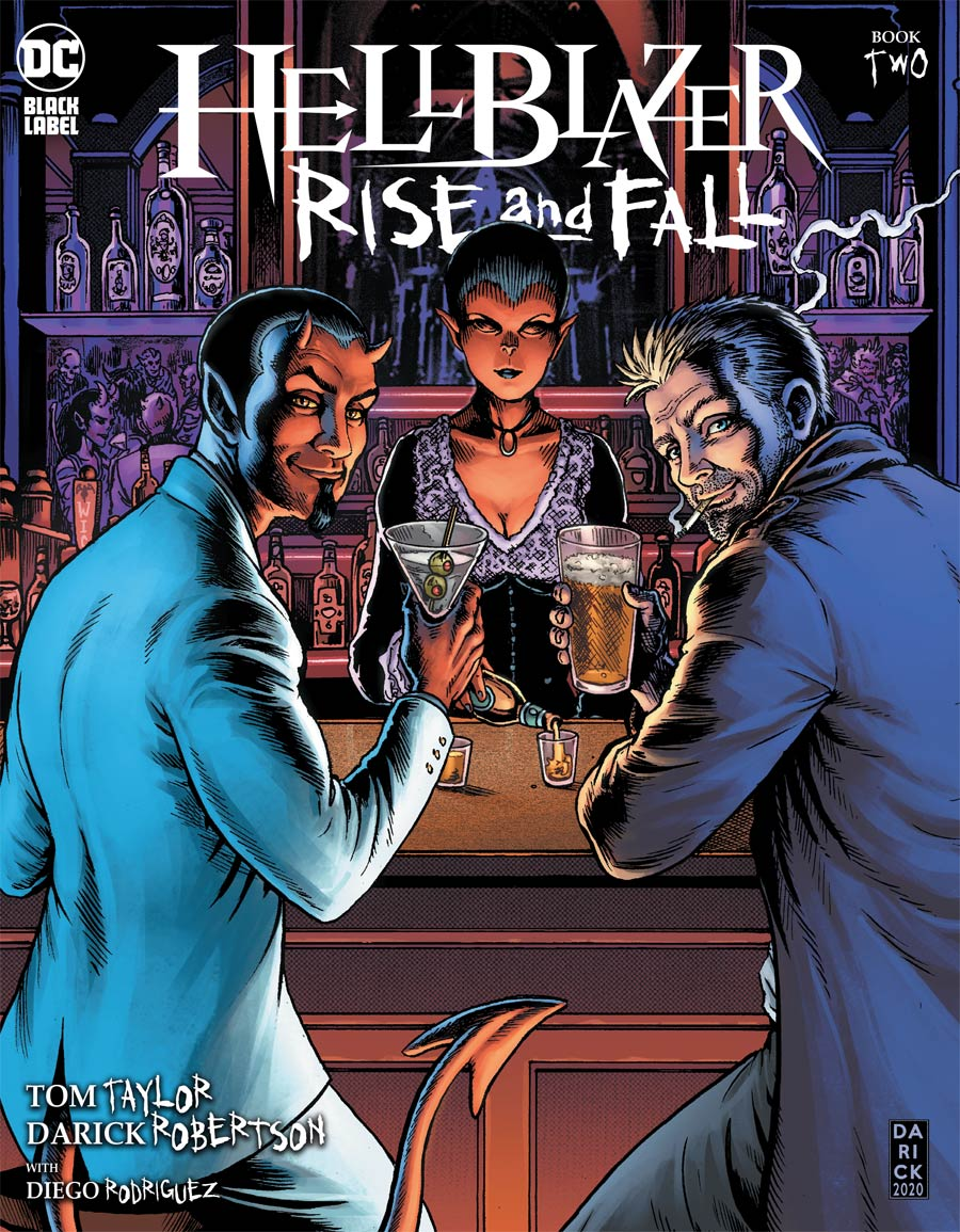Hellblazer Rise And Fall #2 Cover A Regular Darick Robertson Cover