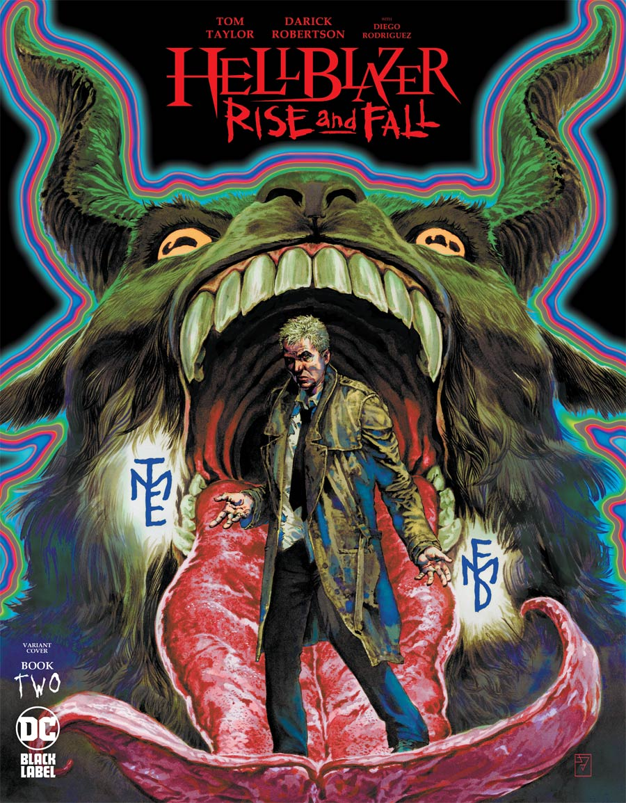 Hellblazer Rise And Fall #2 Cover B Variant JH Williams III Cover