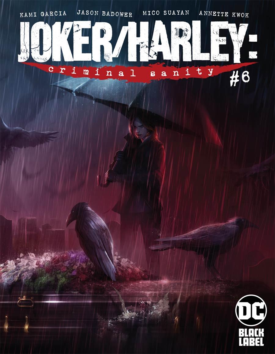 Joker Harley Criminal Sanity #6 Cover A Regular Francesco Mattina Cover