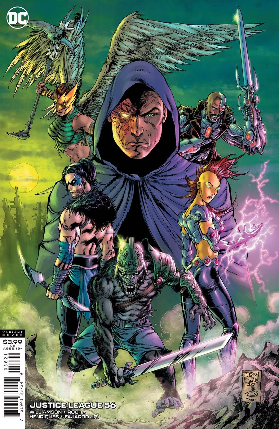 Justice League Vol 4 #56 Cover B Variant Tony S Daniel & Danny Miki Cover (Dark Nights Death Metal Tie-In)