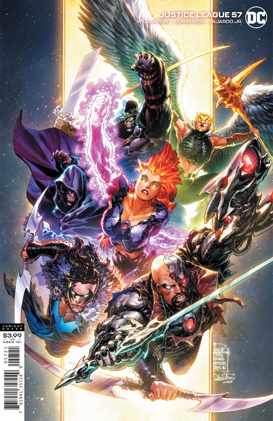 Justice League Vol 4 #57 Cover B Variant Philip Tan Cover (Dark Nights Death Metal Tie-In)