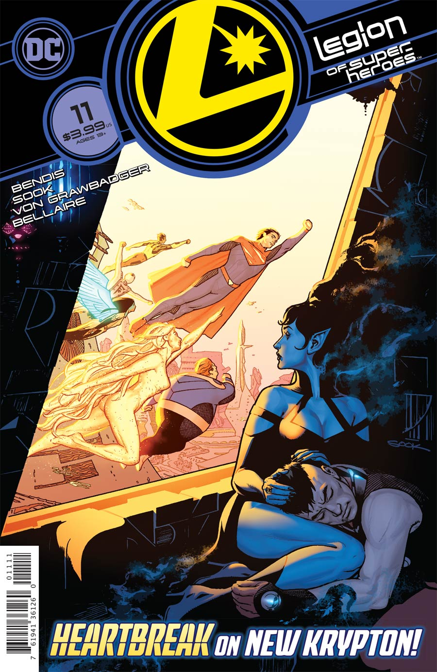 Legion Of Super-Heroes Vol 8 #11 Cover A Regular Ryan Sook Cover