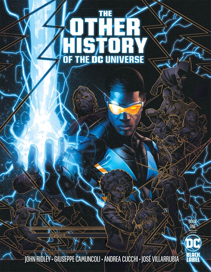 Other History Of The DC Universe #1 Cover B Variant Jamal Campbell Cover