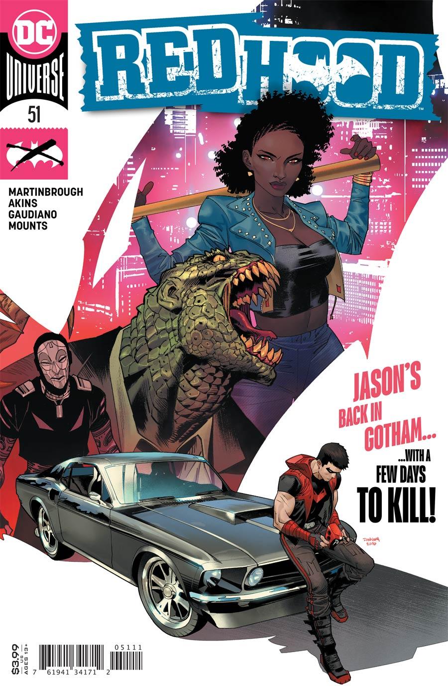 Red Hood #51 Cover A Regular Dan Mora Cover