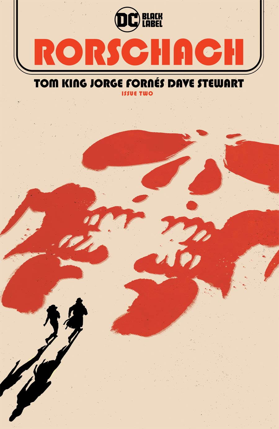 Rorschach #2 Cover A Regular Jorge Fornes Cover