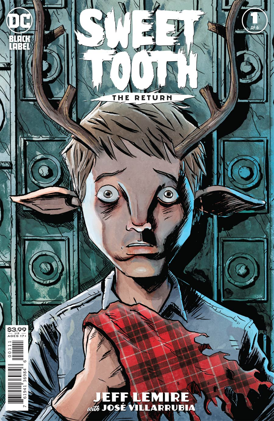 Sweet Tooth The Return #1 Cover A Regular Jeff Lemire Cover