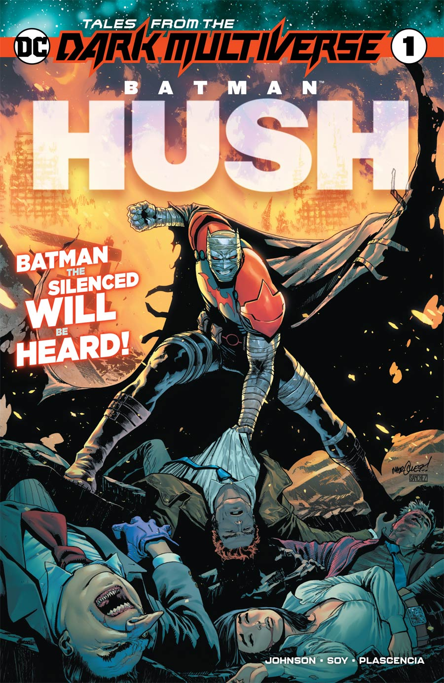 Tales From The Dark Multiverse Batman Hush One Shot Cover A Regular David Marquez Cover
