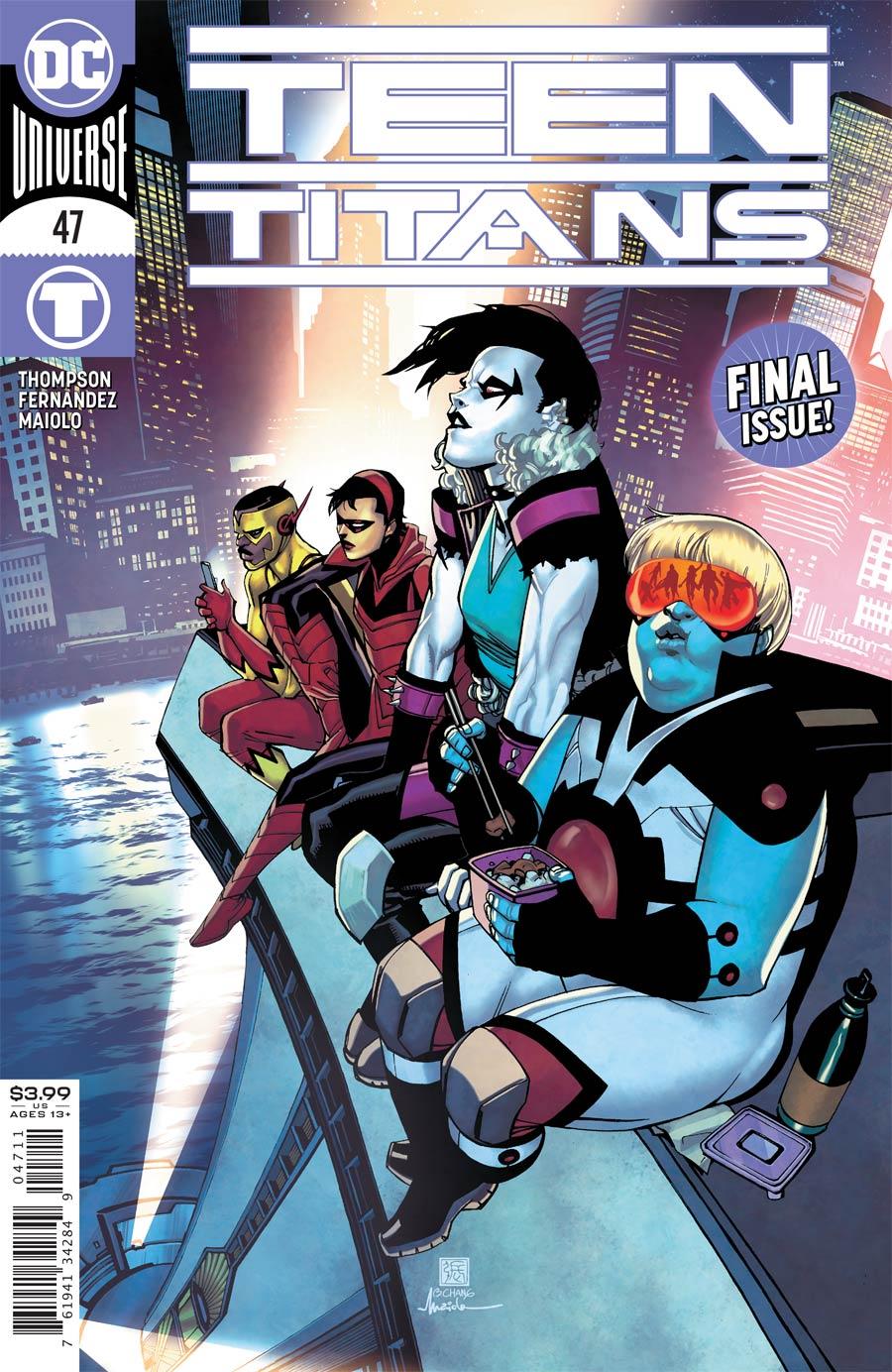 Teen Titans Vol 6 #47 Cover A Regular Bernard Chang Cover