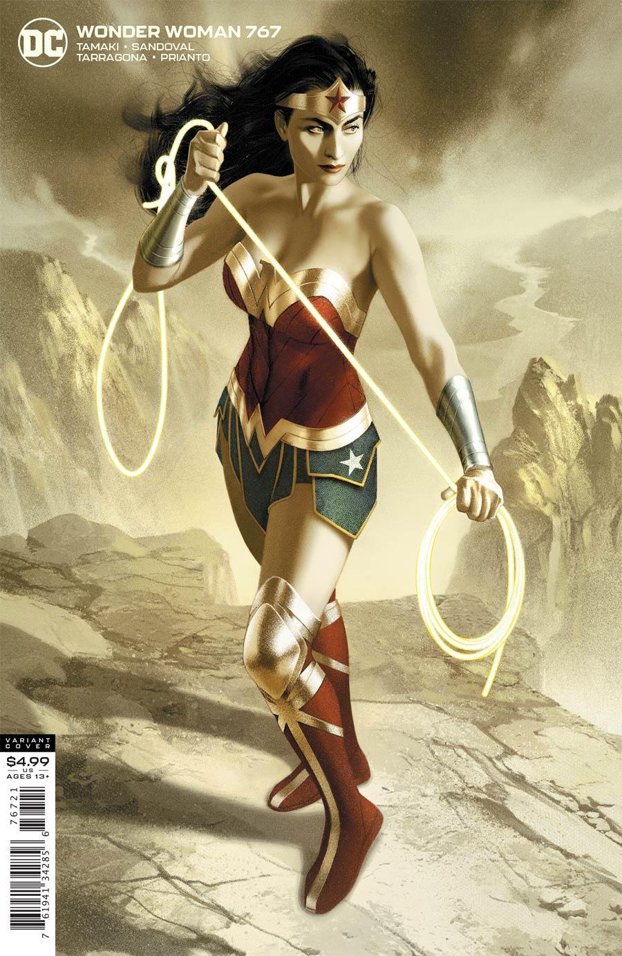 Wonder Woman Vol 5 #767 Cover B Variant Joshua Middleton Card Stock Cover