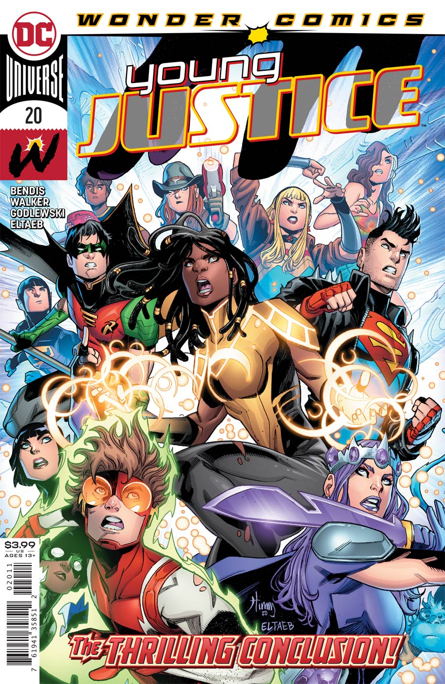 Young Justice Vol 3 #20 Cover A Regular John Timms Cover