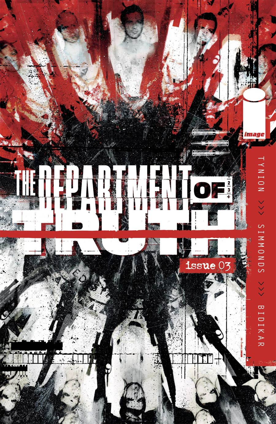 Department Of Truth #3 Cover A 1st Ptg Regular Martin Simmonds Cover