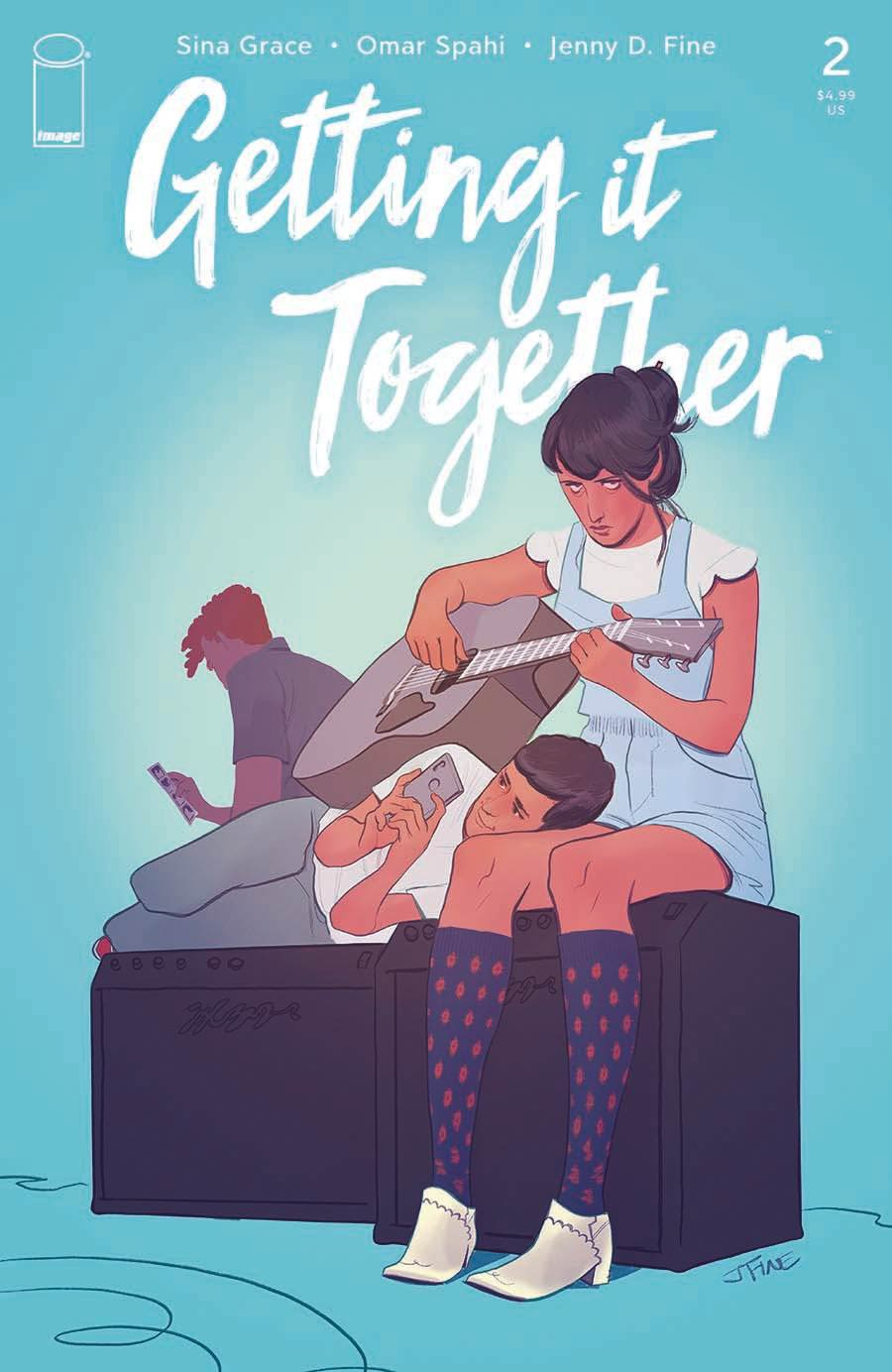 Getting It Together #2 Cover A Regular Jenny Fine Cover