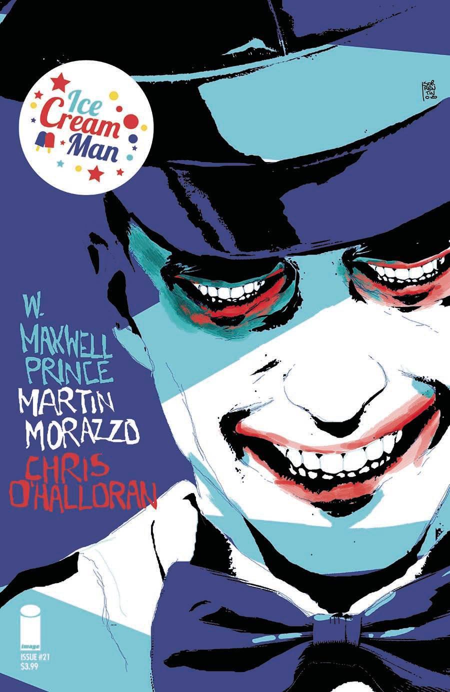 Ice Cream Man #21 Cover B Variant Andrea Sorrentino Cover
