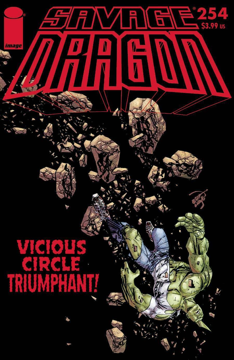 Savage Dragon Vol 2 #254 Cover A Regular Erik Larsen Cover