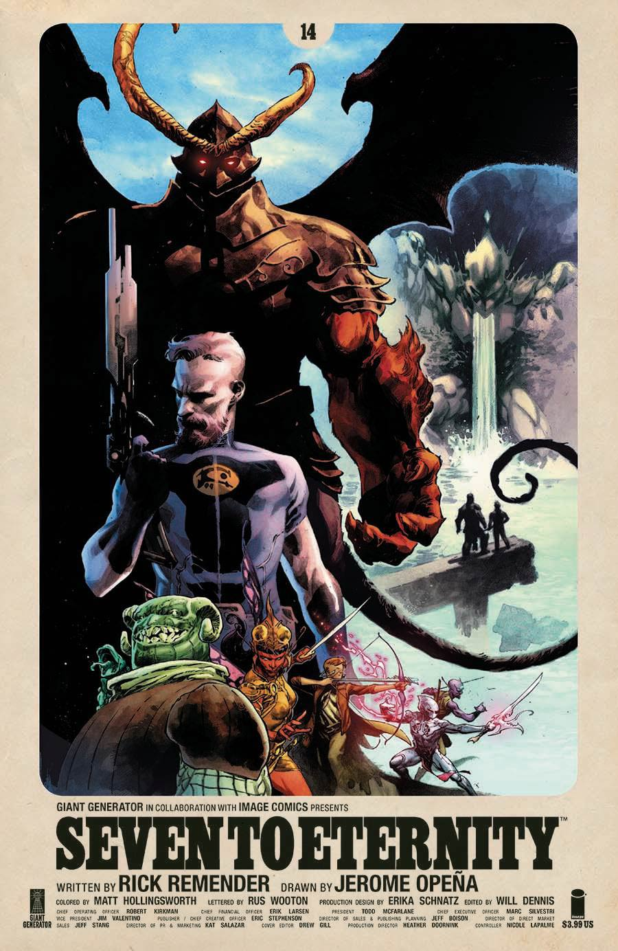 Seven To Eternity #14 Cover A Regular Jerome Opena & Matt Hollingsworth Cover