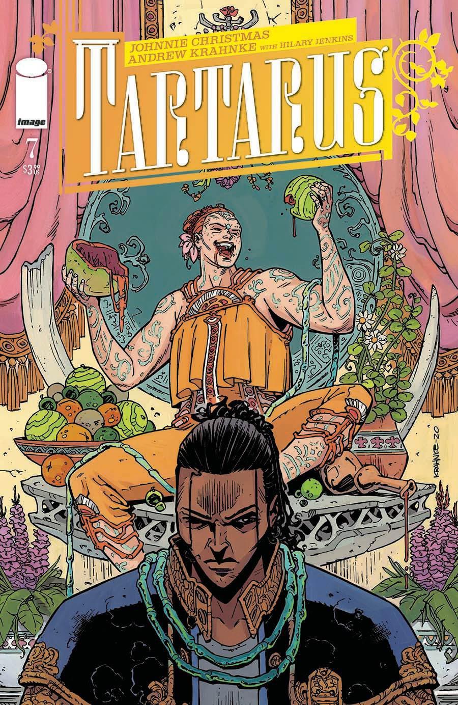 Tartarus #7 Cover A Regular Andrew Krahnke Cover