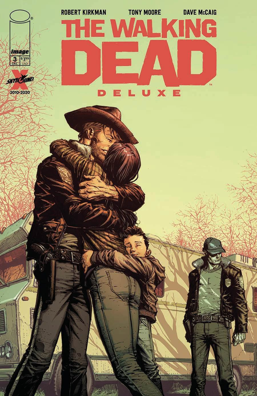 Walking Dead Deluxe #3 Cover A Regular David Finch & Dave McCaig Cover