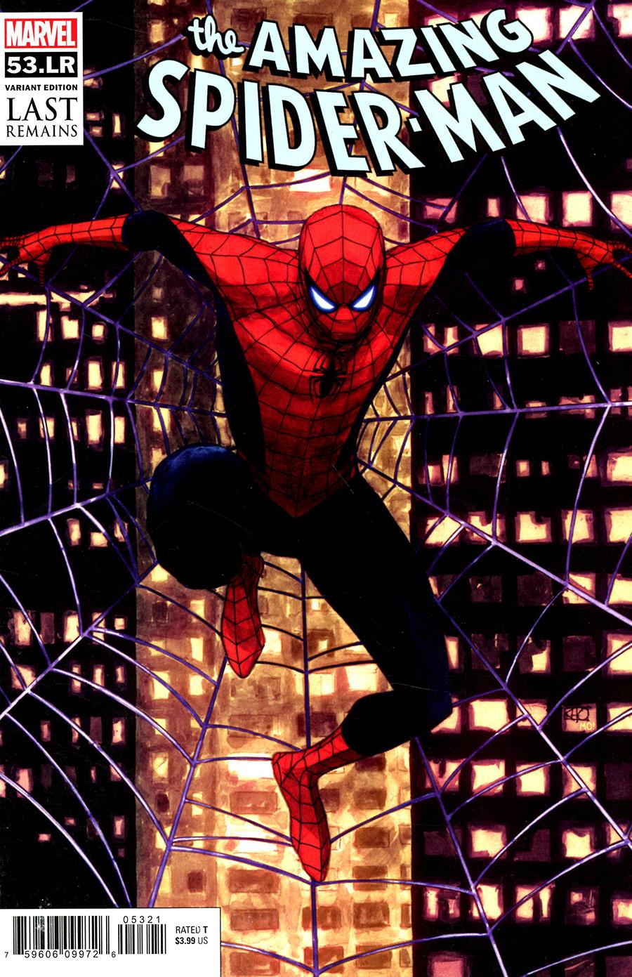 Amazing Spider-Man Vol 5 #53LR Cover B Variant Khoi Pham Cover