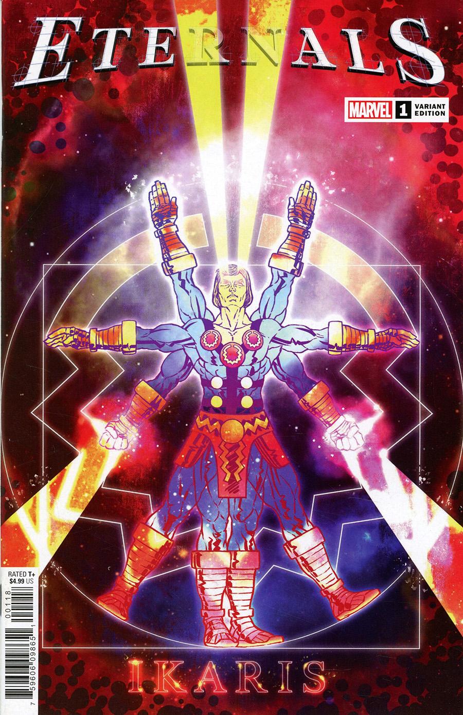 Eternals Vol 5 #1 Cover G Variant Superlog Cover