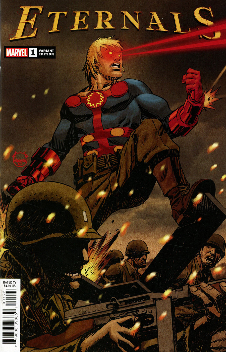 Eternals Vol 5 #1 Cover M Variant Dave Johnson Cover