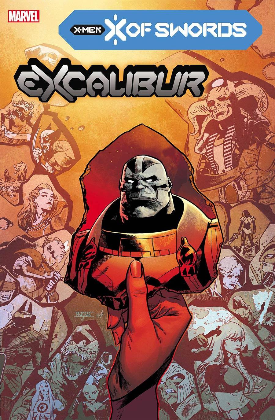 Excalibur Vol 4 #15 Cover A Regular Mahmud Asrar Cover (X Of Swords Part 21)