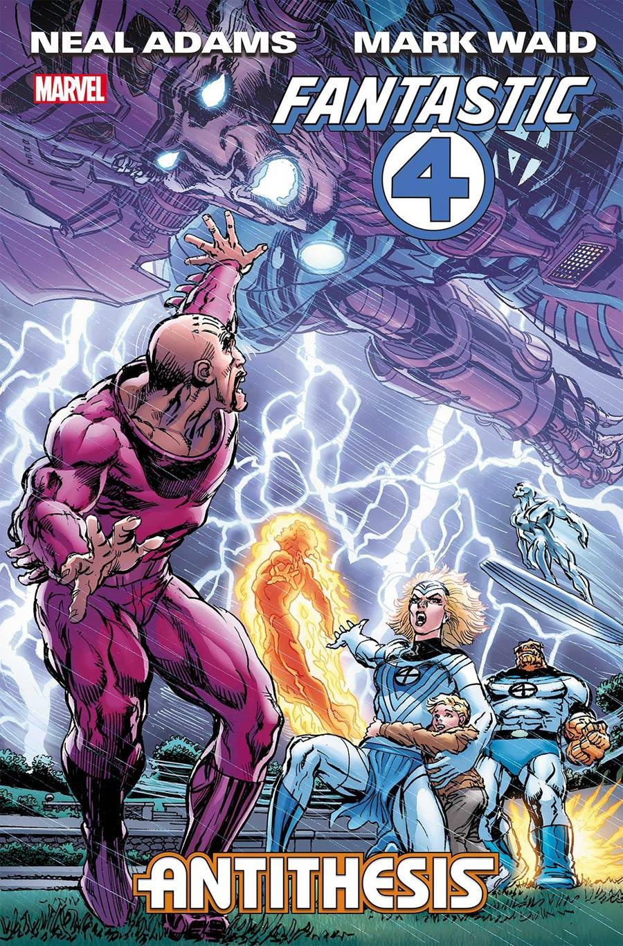 Fantastic Four Antithesis #4 Cover A Regular Neal Adams Cover