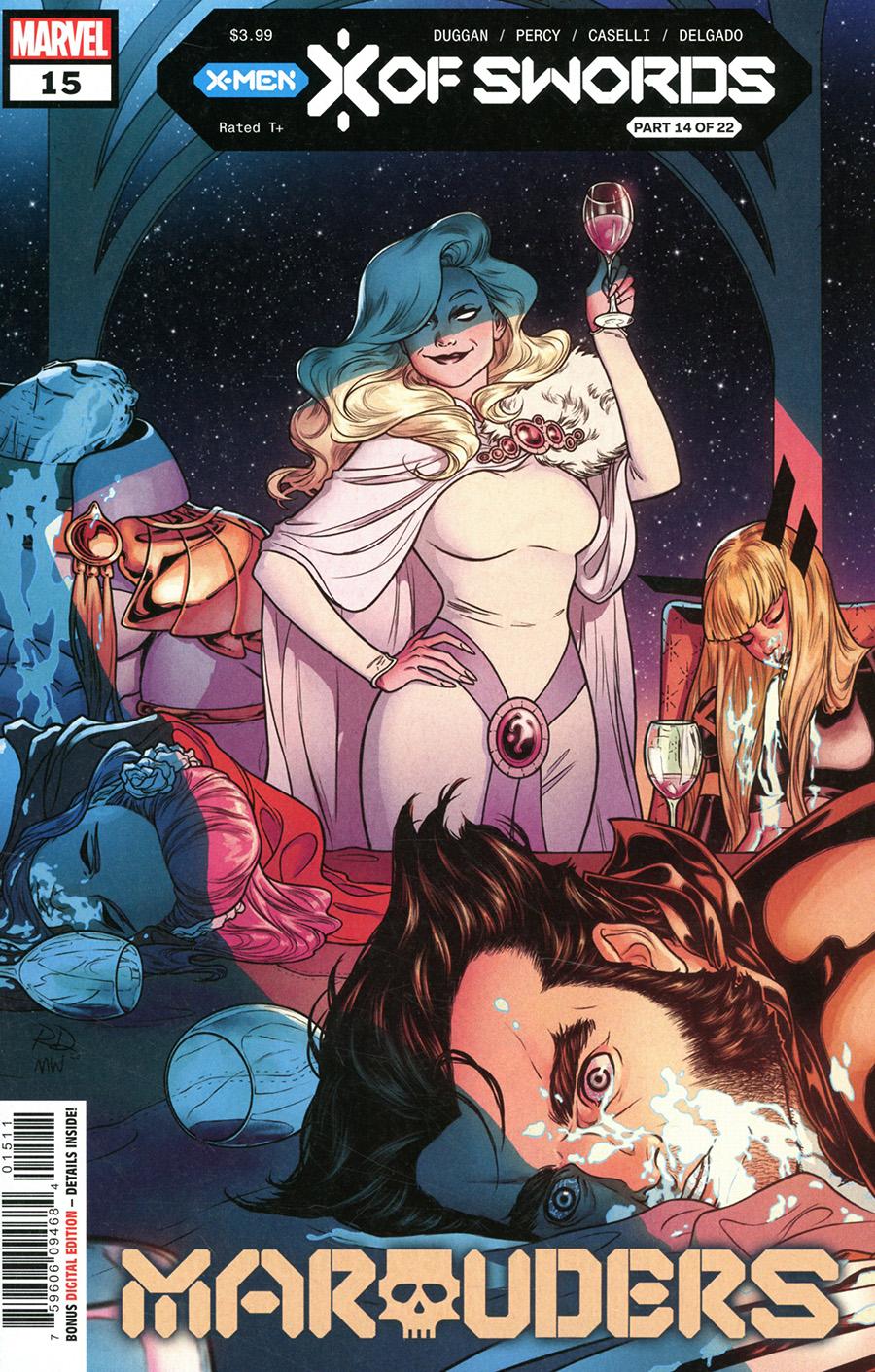 Marauders #15 Cover A Regular Russell Dauterman Cover (X Of Swords Part 14)
