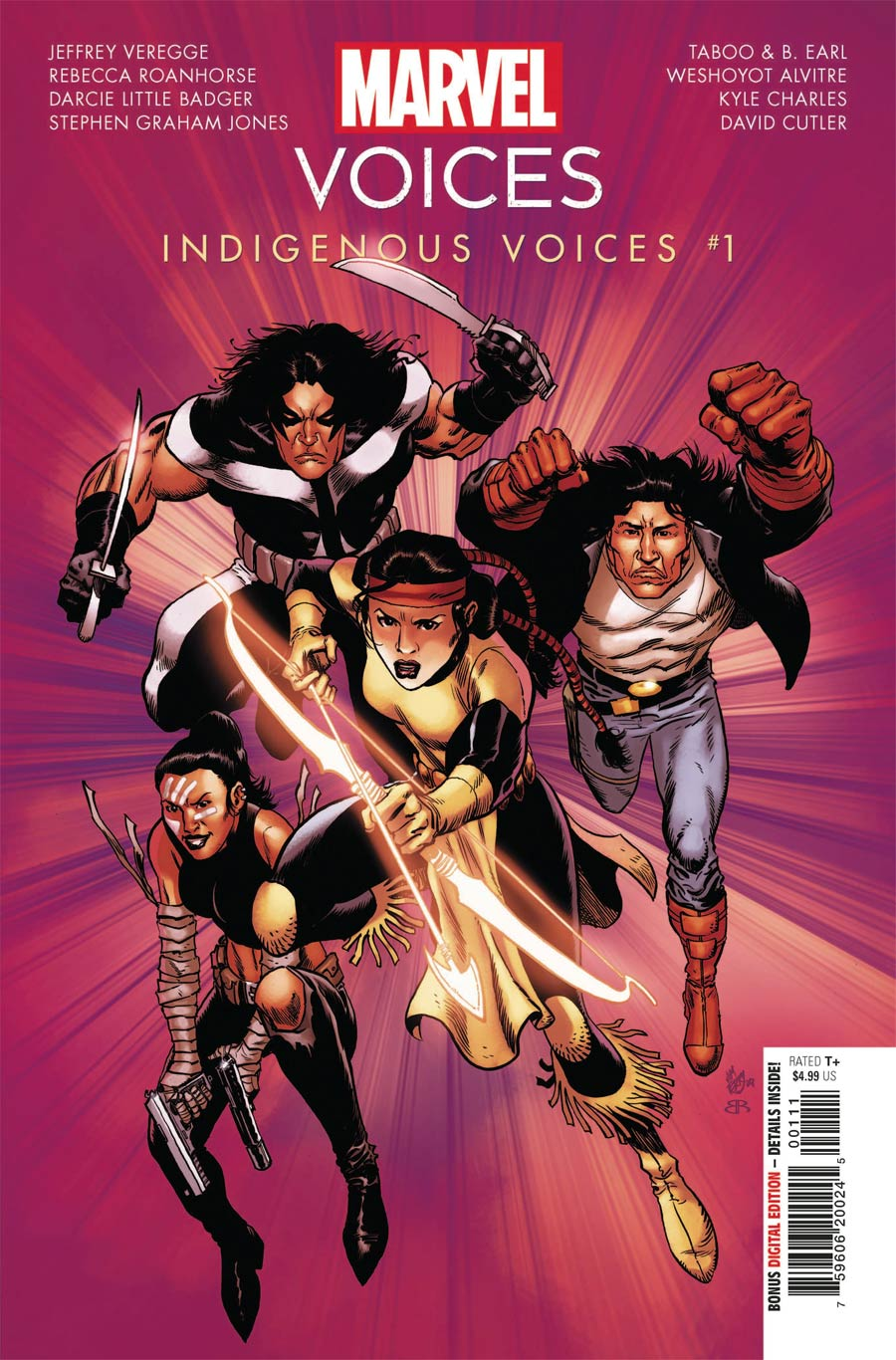 Marvels Voices Indigenous Voices One Shot Cover A Regular Jim Terry Cover