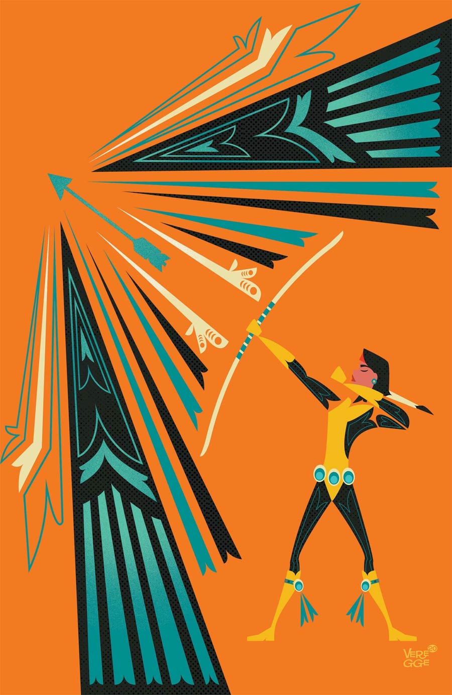 Marvels Voices Indigenous Voices One Shot Cover B Variant Jeffrey Veregge Native American Heritage Tribute Dani Moonstar Cover